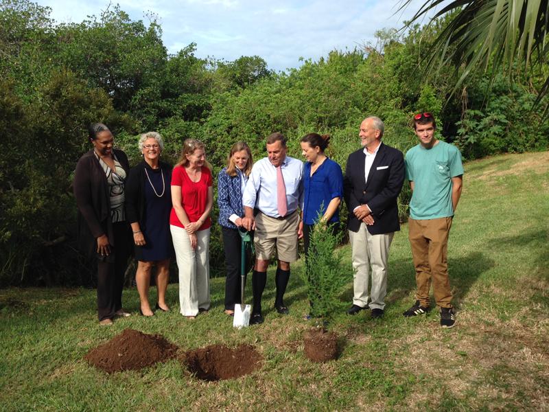 AFP Bermuda Honours Mr. James (Jim) Butterfield Nov 12 2015 (1)