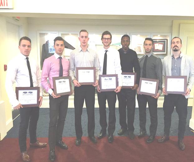 AUS 2015 Men's Soccer All-Stars Award Winners November 2015