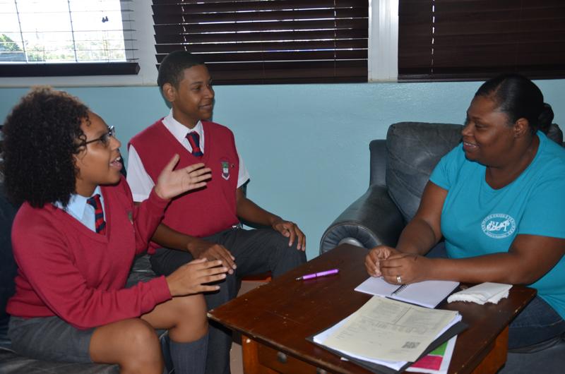 Active parenting workshop at CBA Bermuda November 2015