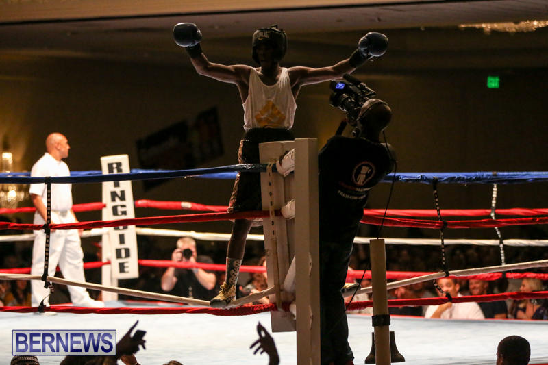 Andre Lambe vs Shane Mello Boxing Match Bermuda, November 7 2015-15