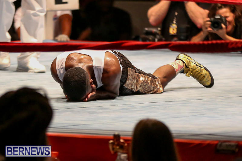 Andre Lambe vs Shane Mello Boxing Match Bermuda, November 7 2015-18