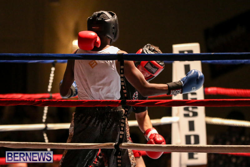 Andre Lambe vs Shane Mello Boxing Match Bermuda, November 7 2015-4