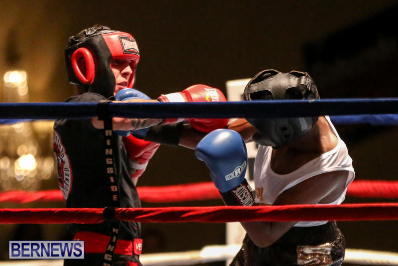 Andre Lambe vs Shane Mello Boxing Match Bermuda, November 7 2015-6