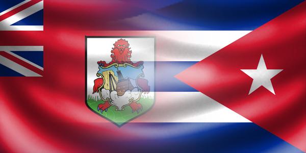 Bermuda - Cuba flags generic