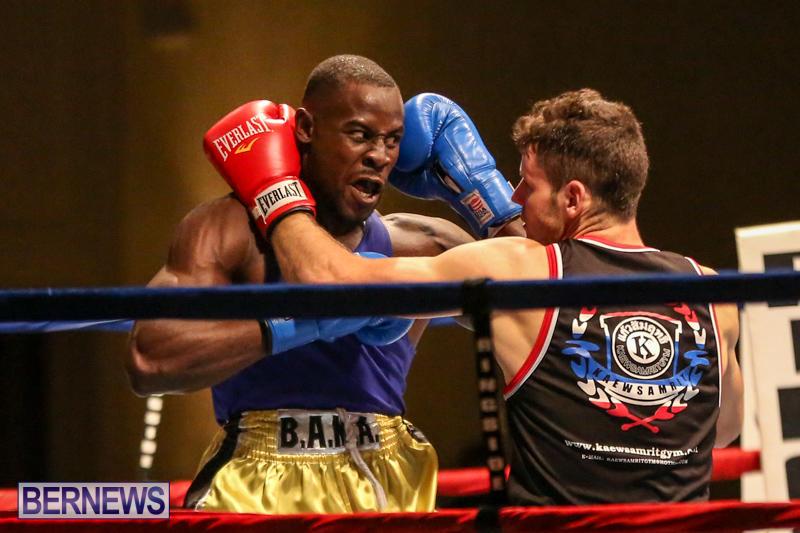 Daniel Avram vs Corey Boyce Boxing Match Bermuda, November 7 2015-10