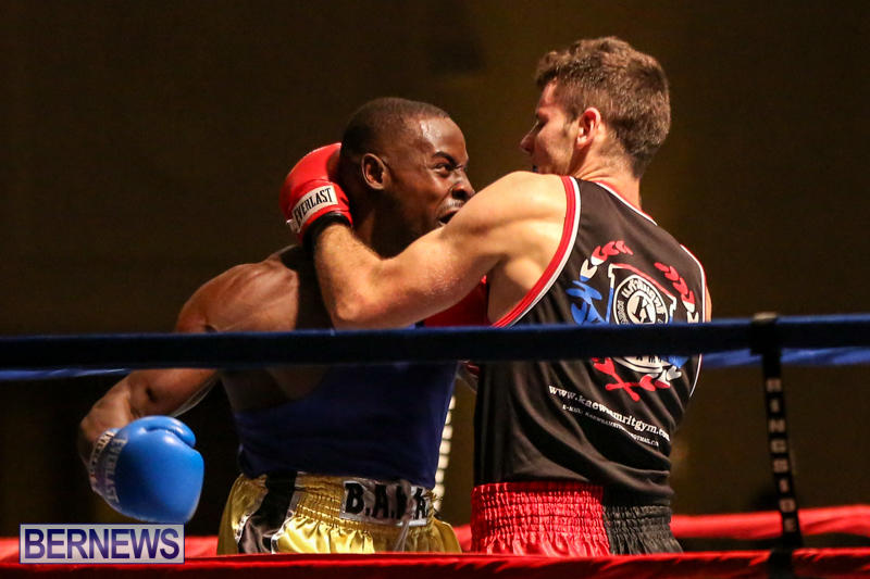 Daniel Avram vs Corey Boyce Boxing Match Bermuda, November 7 2015-11