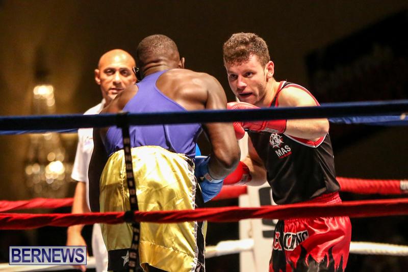 Daniel Avram vs Corey Boyce Boxing Match Bermuda, November 7 2015-12