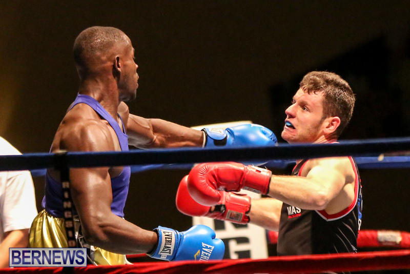 Daniel Avram vs Corey Boyce Boxing Match Bermuda, November 7 2015-13