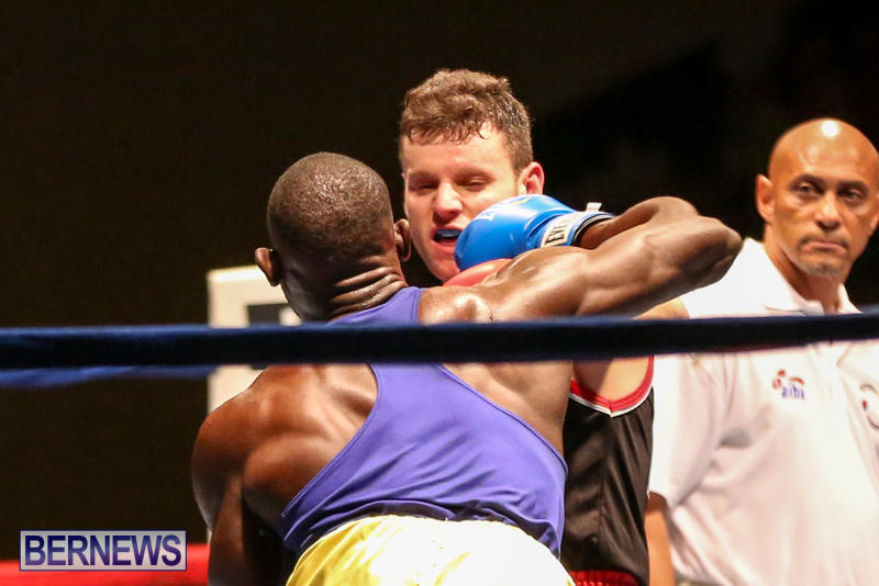 Daniel Avram vs Corey Boyce Boxing Match Bermuda, November 7 2015-14