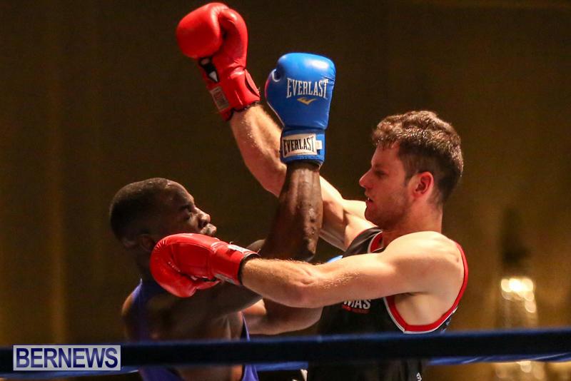 Daniel Avram vs Corey Boyce Boxing Match Bermuda, November 7 2015-15