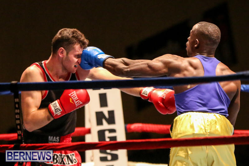 Daniel Avram vs Corey Boyce Boxing Match Bermuda, November 7 2015-17