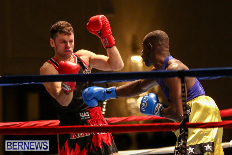 Daniel Avram vs Corey Boyce Boxing Match Bermuda, November 7 2015-4