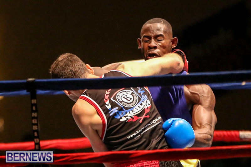 Daniel Avram vs Corey Boyce Boxing Match Bermuda, November 7 2015-5