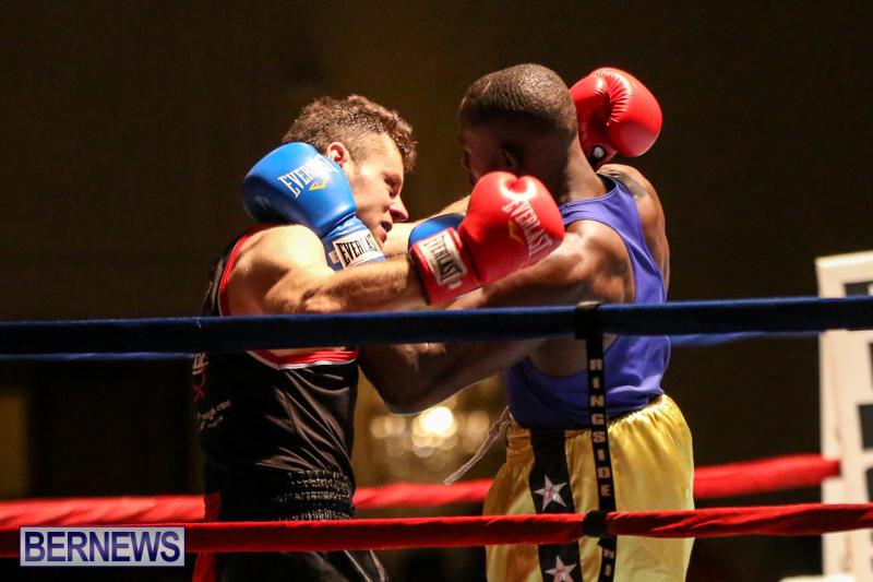Daniel Avram vs Corey Boyce Boxing Match Bermuda, November 7 2015-6