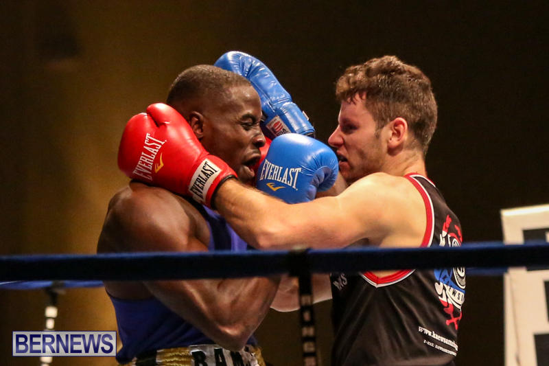 Daniel Avram vs Corey Boyce Boxing Match Bermuda, November 7 2015-9