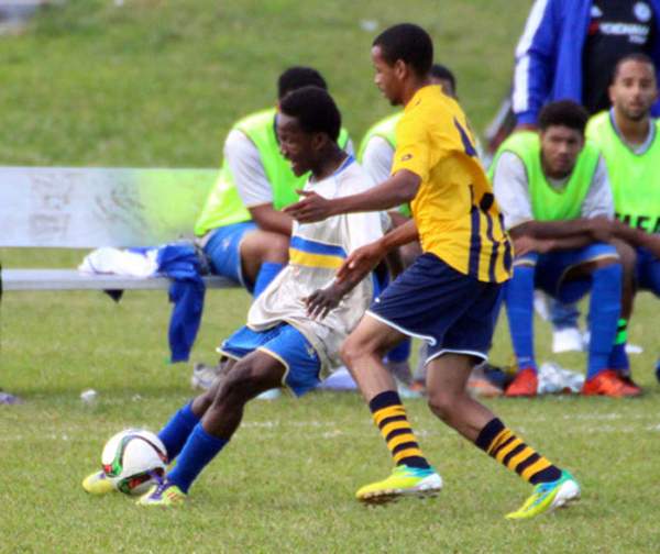Football Bermuda Nov 22 2015
