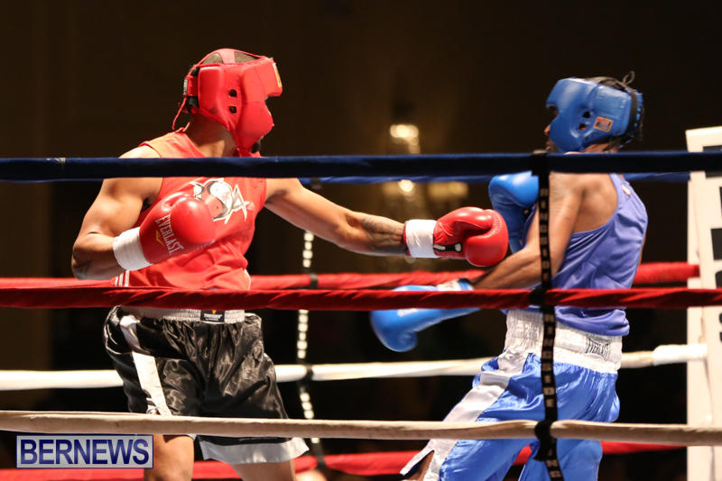 Keanu Wilson vs Courtney Dublin Boxing Match Bermuda, November 7 2015-1