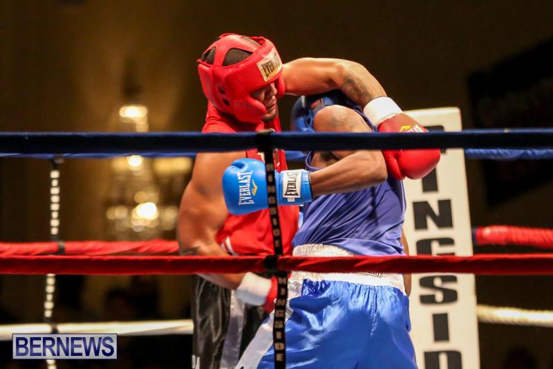 Keanu Wilson vs Courtney Dublin Boxing Match Bermuda, November 7 2015-14