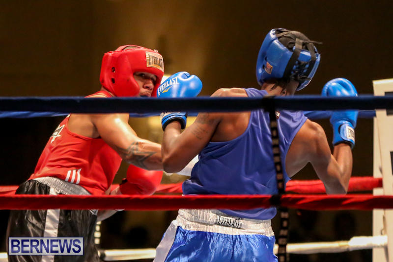 Keanu Wilson vs Courtney Dublin Boxing Match Bermuda, November 7 2015-15