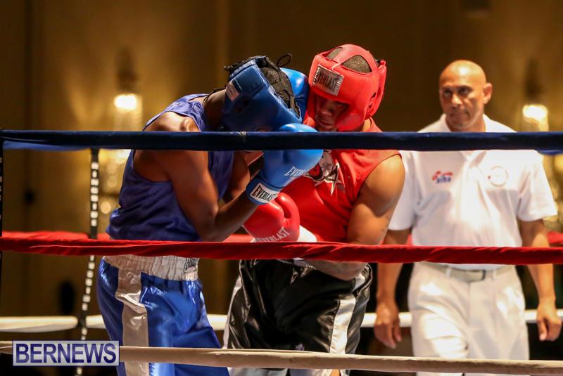 Keanu Wilson vs Courtney Dublin Boxing Match Bermuda, November 7 2015-3