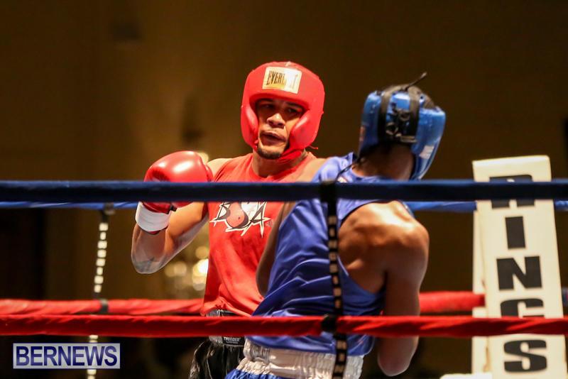 Keanu Wilson vs Courtney Dublin Boxing Match Bermuda, November 7 2015-4