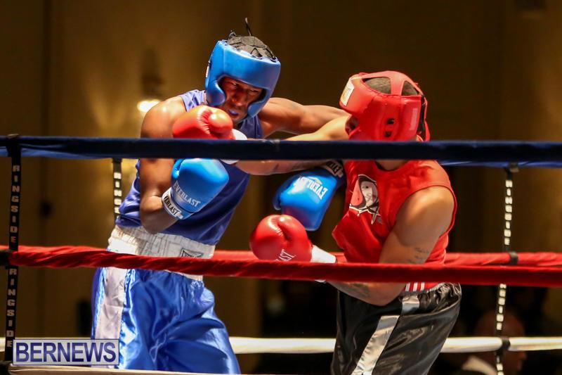 Keanu Wilson vs Courtney Dublin Boxing Match Bermuda, November 7 2015-8