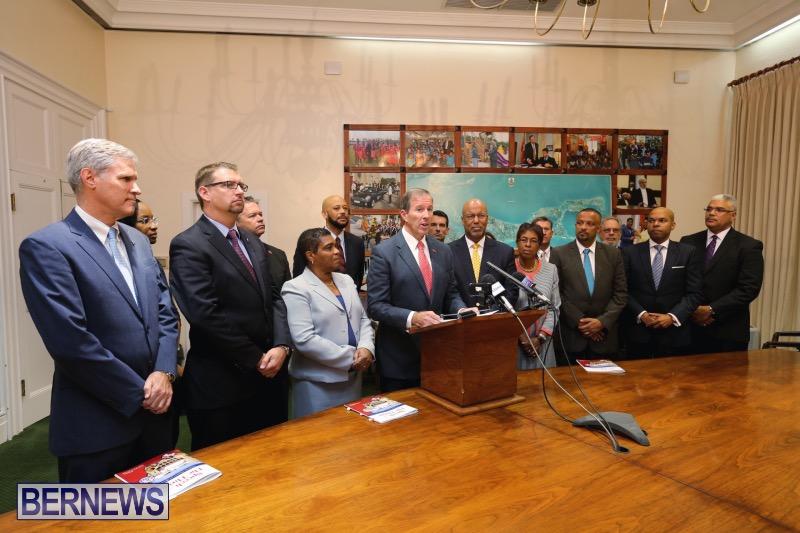 Premier's Throne speech press con remarks Bermuda Nov 2015