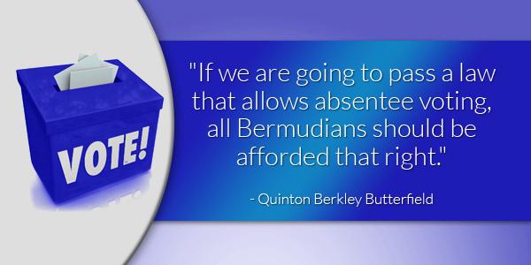 Quinton Berkley Butterfield absentee voting 2 nwm