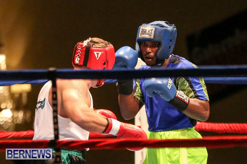 Raul Vlad vs Jaylen Roberts Boxing Match Bermuda, November 7 2015-19