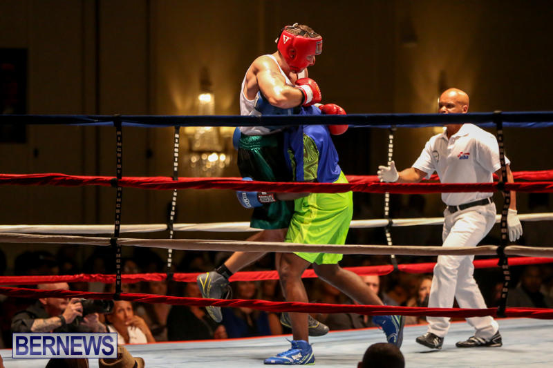 Raul Vlad vs Jaylen Roberts Boxing Match Bermuda, November 7 2015-9