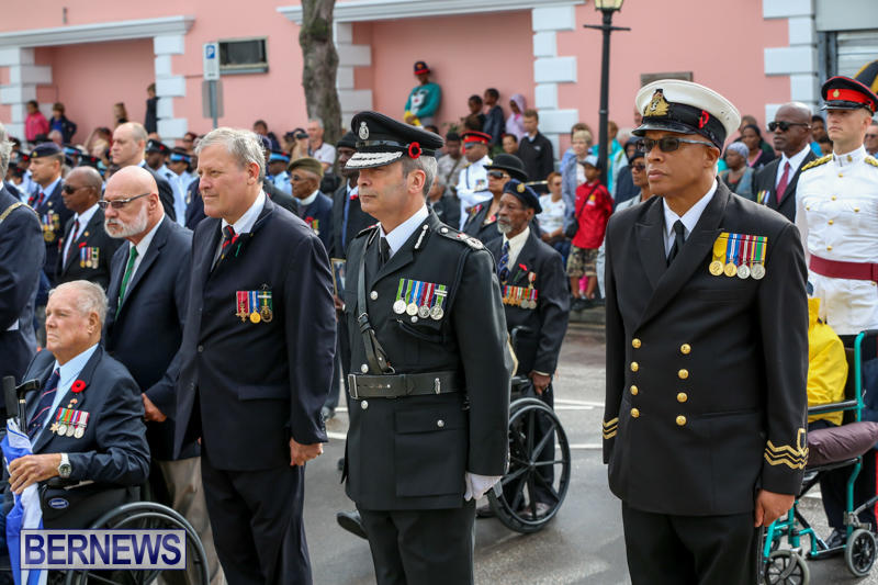 Remembrance-Day-Front-Street-Bermuda-November-11-2015-22