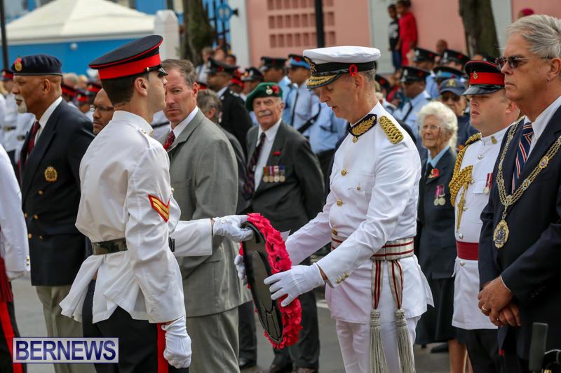 Remembrance-Day-Front-Street-Bermuda-November-11-2015-30