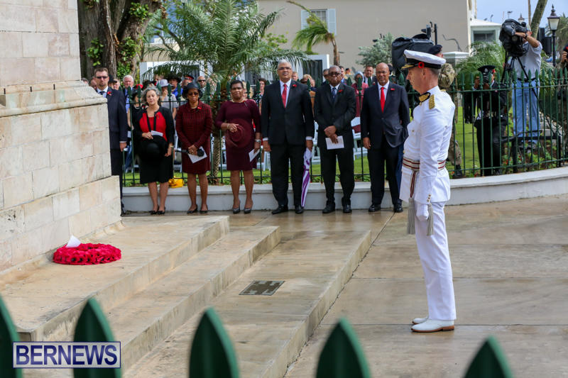 Remembrance-Day-Front-Street-Bermuda-November-11-2015-32