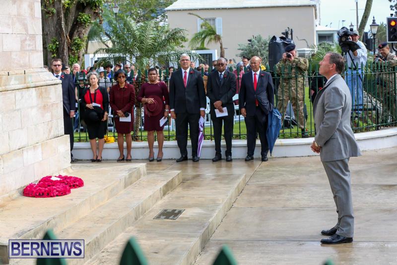 Remembrance-Day-Front-Street-Bermuda-November-11-2015-36