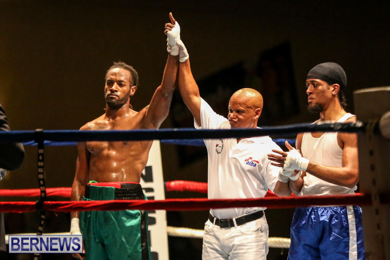 Robert King Somner vs Di'Andre Burgess Boxing Match Bermuda, November 7 2015-18