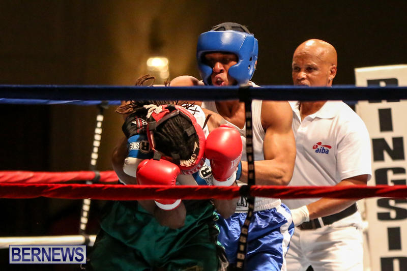 Robert King Somner vs Di'Andre Burgess Boxing Match Bermuda, November 7 2015-4