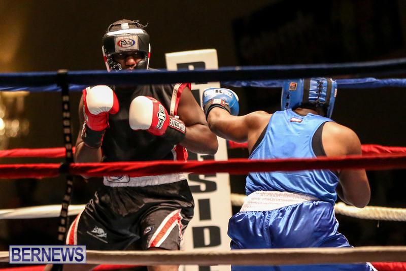 Shannon Ford vs Stefan Dill Boxing Match Bermuda, November 7 2015-1