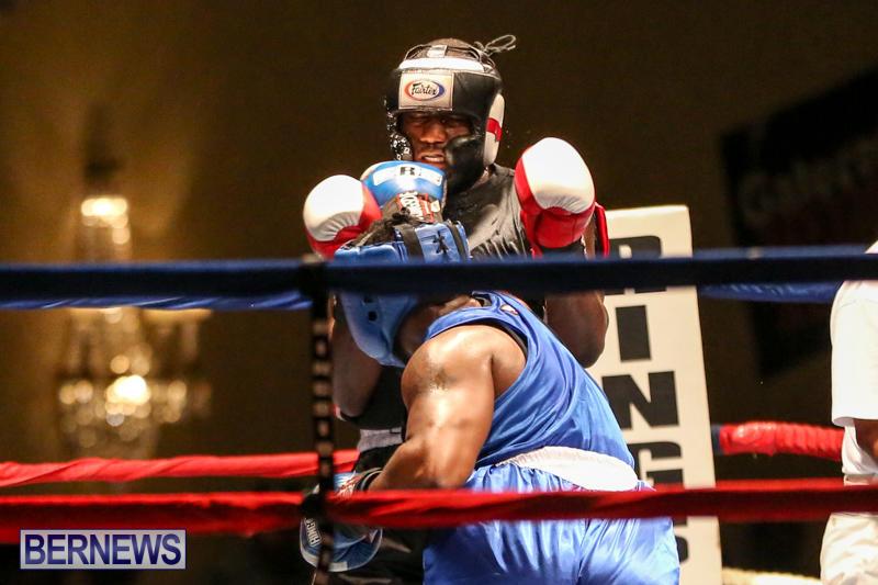Shannon Ford vs Stefan Dill Boxing Match Bermuda, November 7 2015-10