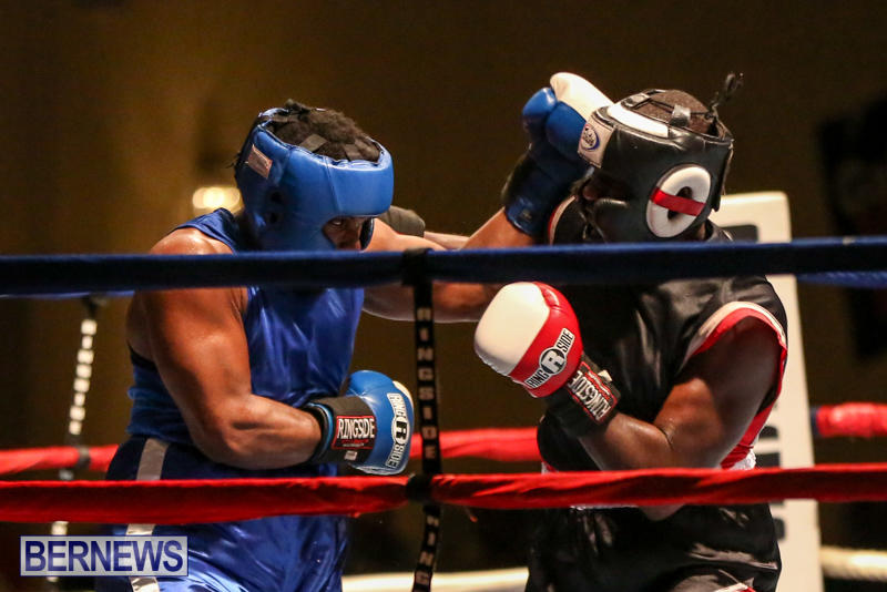 Shannon Ford vs Stefan Dill Boxing Match Bermuda, November 7 2015-11