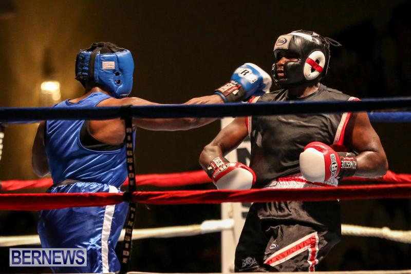 Shannon Ford vs Stefan Dill Boxing Match Bermuda, November 7 2015-13