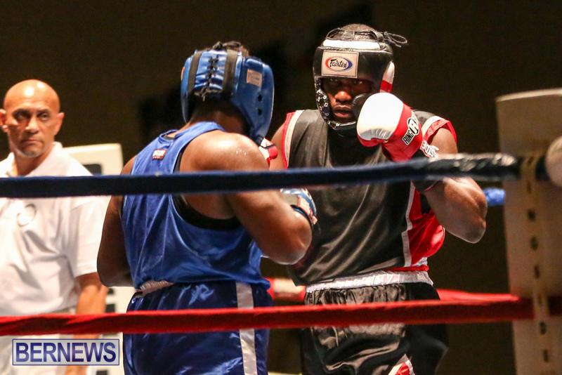 Shannon Ford vs Stefan Dill Boxing Match Bermuda, November 7 2015-14