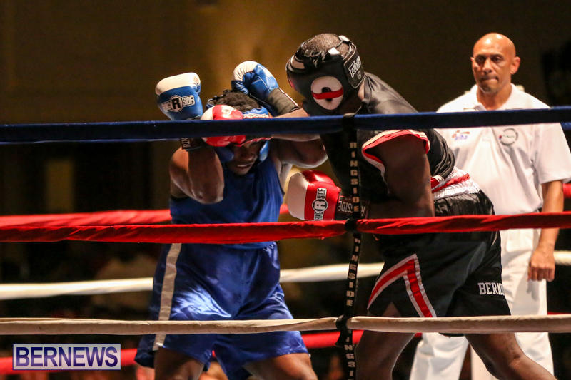 Shannon Ford vs Stefan Dill Boxing Match Bermuda, November 7 2015-17
