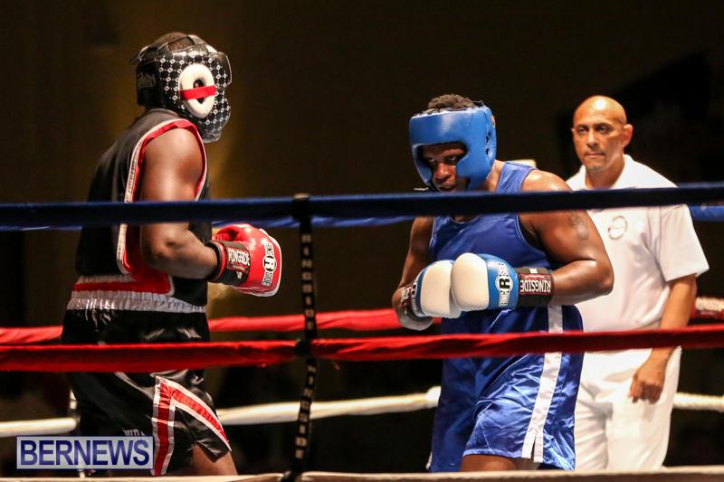 Shannon Ford vs Stefan Dill Boxing Match Bermuda, November 7 2015-18