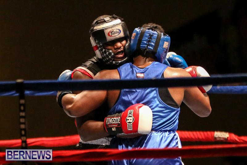 Shannon Ford vs Stefan Dill Boxing Match Bermuda, November 7 2015-19