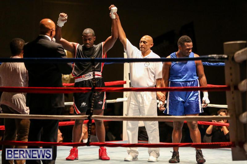 Shannon Ford vs Stefan Dill Boxing Match Bermuda, November 7 2015-20