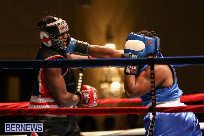 Shannon Ford vs Stefan Dill Boxing Match Bermuda, November 7 2015-3