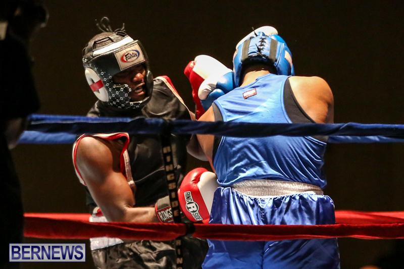Shannon Ford vs Stefan Dill Boxing Match Bermuda, November 7 2015-4
