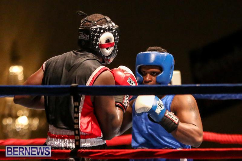 Shannon Ford vs Stefan Dill Boxing Match Bermuda, November 7 2015-6