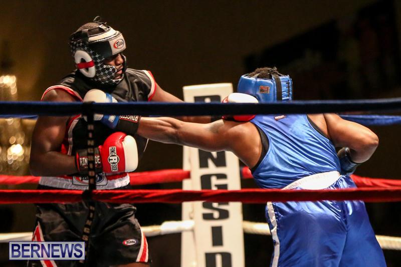 Shannon Ford vs Stefan Dill Boxing Match Bermuda, November 7 2015-7