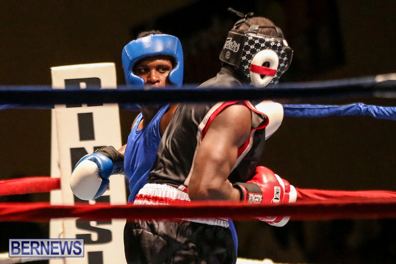 Shannon Ford vs Stefan Dill Boxing Match Bermuda, November 7 2015-8